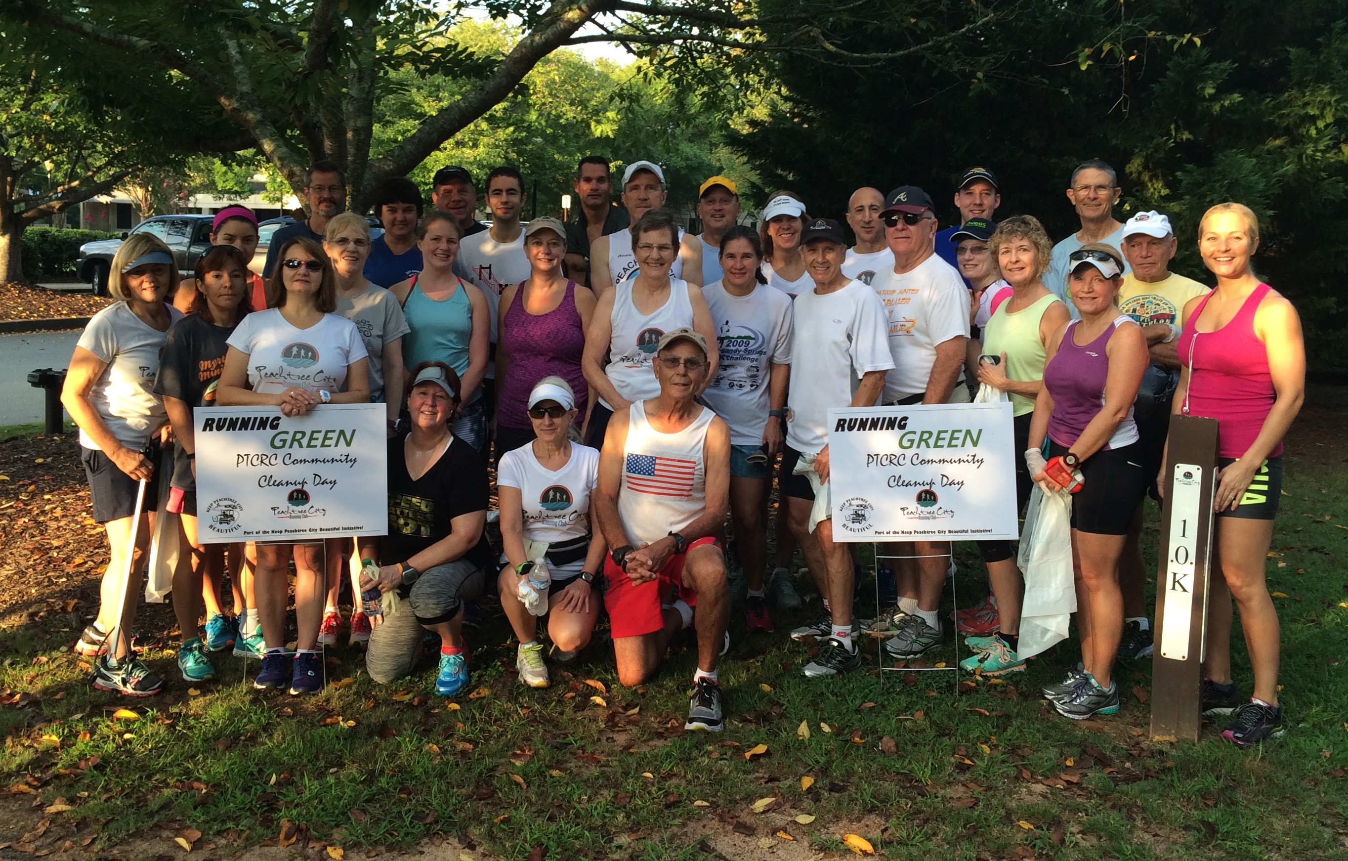 Running Green - PTCRC Community Cleanup Day 2016